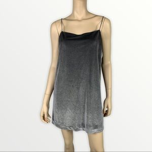 Modern Citizen Shimmer Ombré Slip Dress
